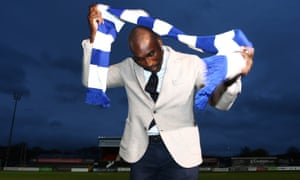 Sol Campbell: ready to try on a new scarf?