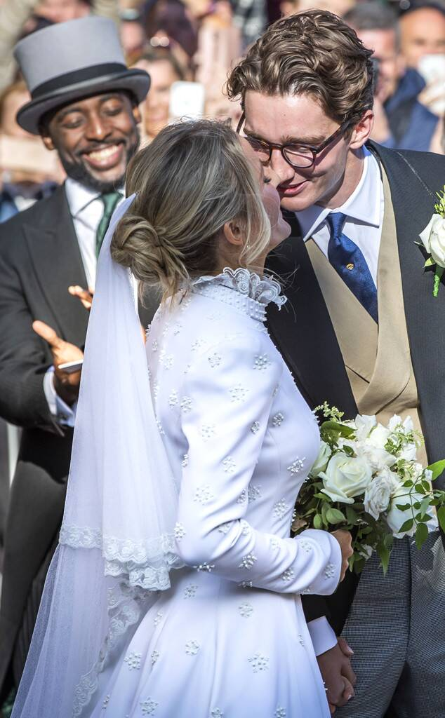Ellie Goulding, Caspar Jopling Wedding, Dress