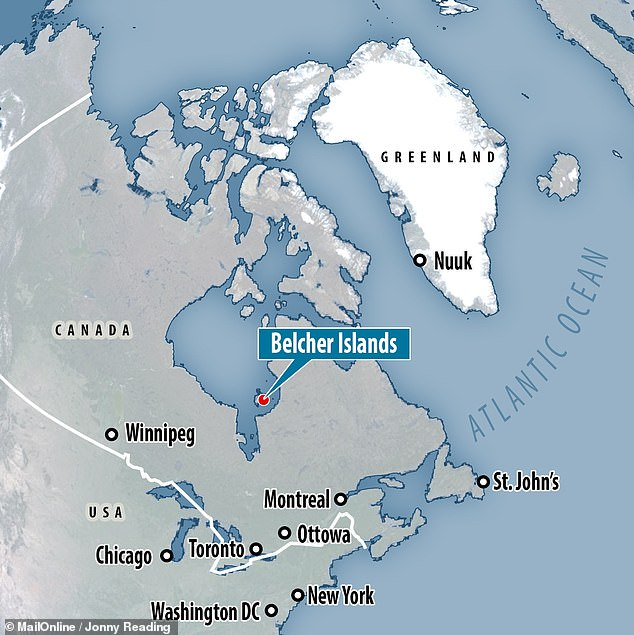 Geologists Malcolm Hodgskiss of California's Stanford University, Peter Crockford of the Weizmann Institute of Science, Israel and colleagues studied rocks collected from the Belcher Islands, on the southeastern side of Canada's Hudson Bay