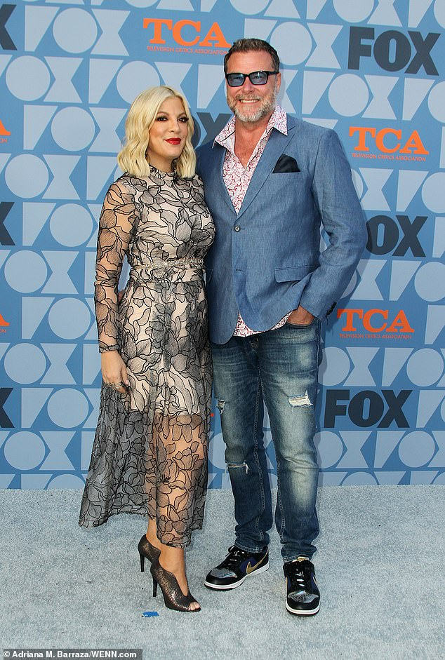 Tori's legal woes weren't over with the credit card company, as she and husband Dean McDermott, 52, are still facing off with City national Bank for an unpaid $400,000 loan