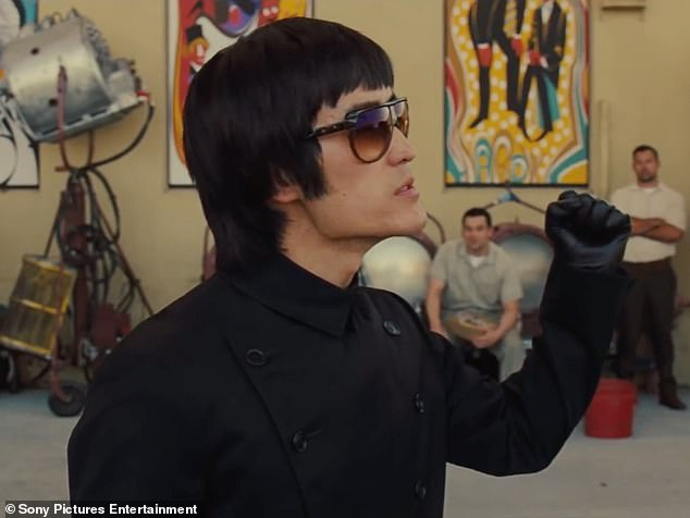 Controversy: In the sequence, Lee (played by Mike Moh) in boasting about his elite combat skills while on the set of the Green Hornet