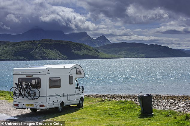 Hitting the road: According to TMZ the couple have started living in an RV