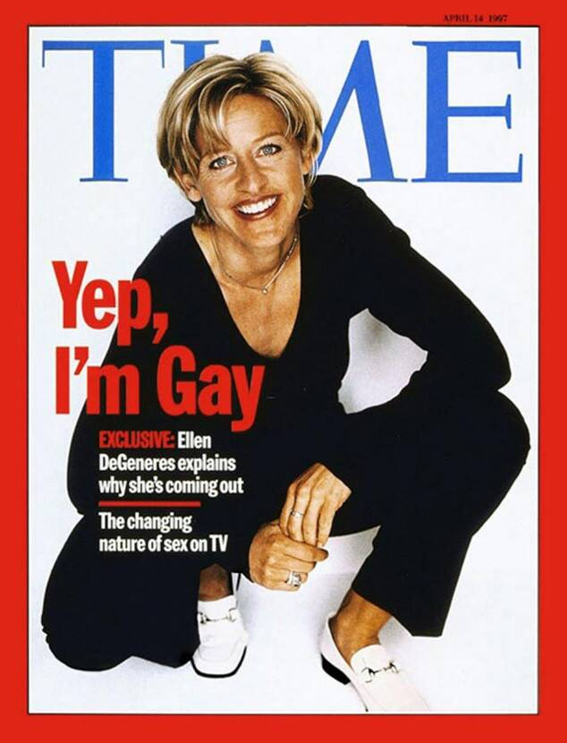 Ellen DeGeneres, Time