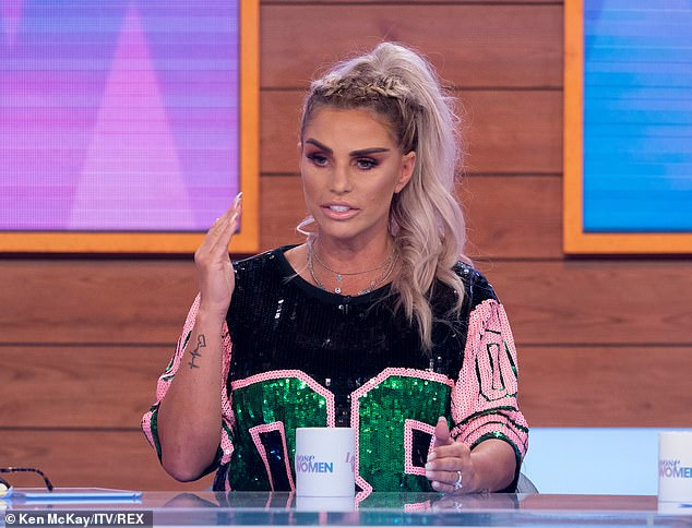 'I have got luck in my life!' In July, Katie revealed Kris had popped the question after just over a year together