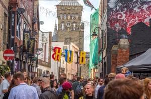 Hub festival, Cardiff.