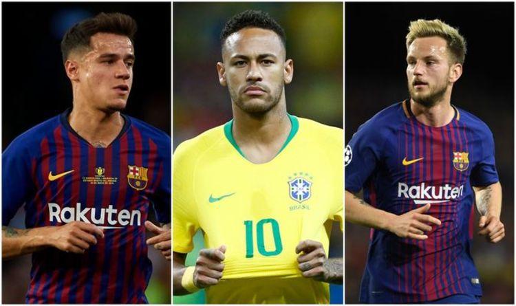Barcelona transfer news LIVE: Neymar £93m PLUS two-player