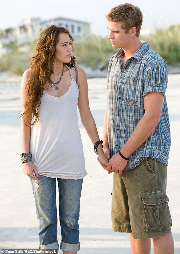 Origin story:Miley and Liam embarked on a real-life relationship while playing a couple onscreen in The Last Song