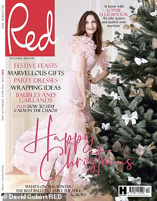 The December issue of Red is on sale from 30th October