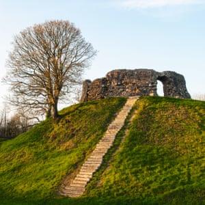 Wiston Castle, Wiston, Pembrokeshire
