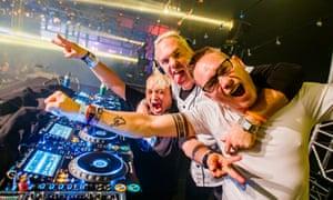 Thundergods … DJs Gizmo, Buzz Fuzz and Dano of the Dreamteam.