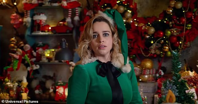 Character: Kate finds work as Santa's elf for a department store and unexpectedly finds love