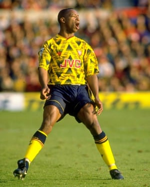 Arsenal's Ian Wright in 1992
