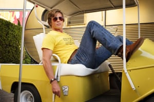 Brad Pitt in Once Upon a Time in …Hollywood.