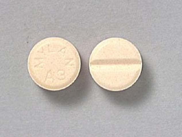 Mylan has recalled one lot of Alprazolam (pictured), its Xanax generic, citing fears that bottles of 500 tablets may be contaminated with an unidentified 'foreign substance'