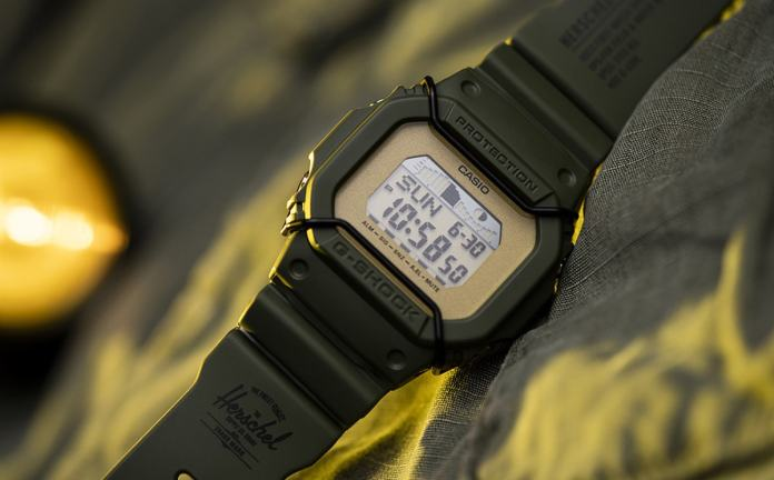 Herschel Supply launches first-ever watch with Casio G-SHOCK