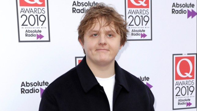 Lewis Capaldi at the 2019 Q Awards