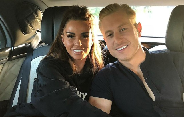 Katie Price and Kris Boyson