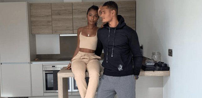Love Island's Jourdan Riane and Danny Williams