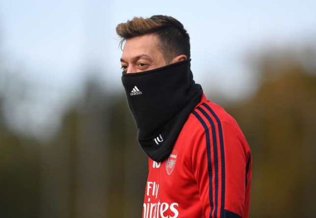 Mesut Ozil is set to make his Arsenal comeback against Liverpool tomorrow