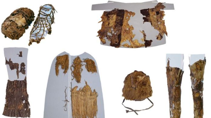 Clothing and gear was found alongside the remains