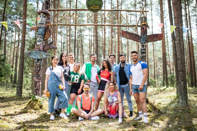 The contestants on Killer Camp