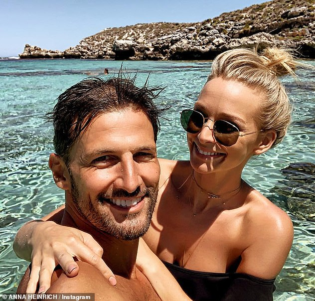 Long-distance marriage: Tim moved to Melbourne in March after landing a full-time role on Neighbours, with the couple mostly seeing each other in Sydney on the weekends