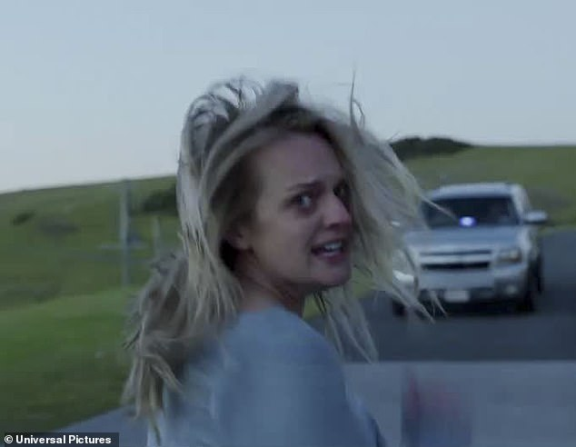 Run! The two-and-a-half minute long trailer begins with images of Cecilia fleeing her abusive partner Adrian in the middle of the night