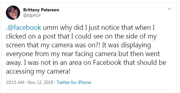 Facebook has yet again come under fire for invading its member's privacy. The app is activating iPhone cameras without the user's knowledge while they are scrolling through the platform