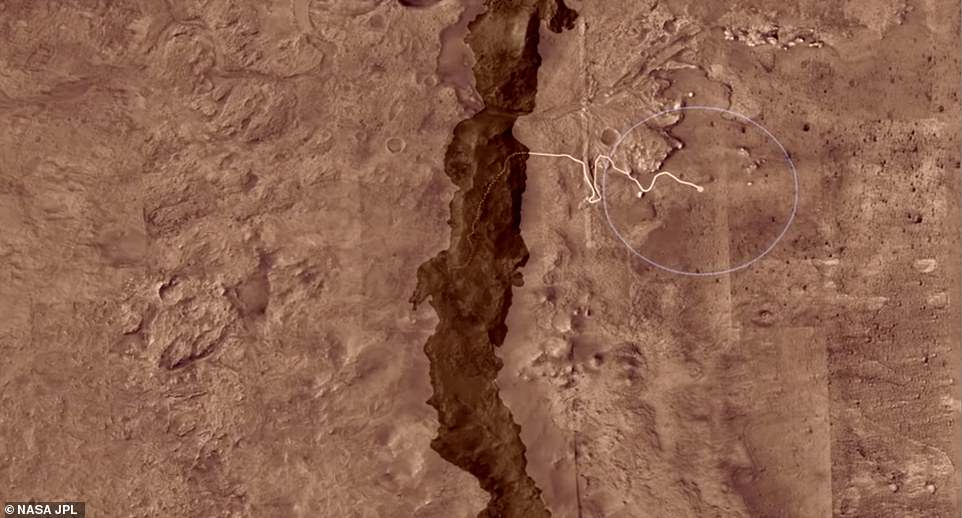 An animated flyover of the Martian surface explains why Mars' Jezero Crater, a 28-mile-wide ancient lake-delta system, is the best place for the Mars 2020 rover to find and collect promising samples for a possible future return to Earth
