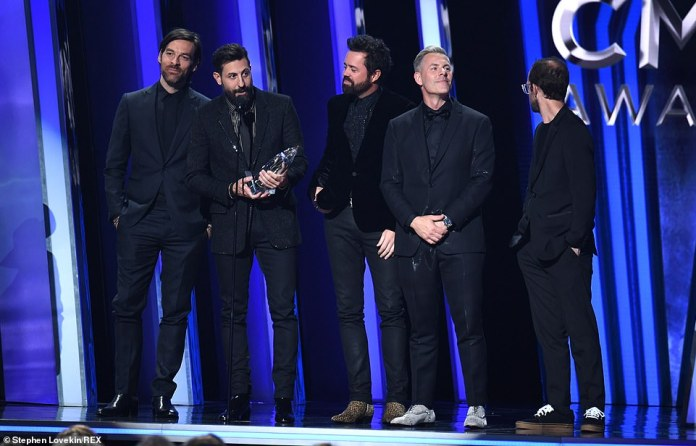Best Group: The award was won by Old Dominion, beating out Lady Antebellum, Little Big Town, Midland and Zac Brown Band