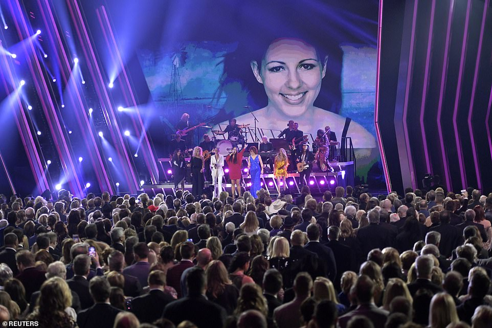 CMA stage: The CMA Awards were held from Bridgestone Arena in Nashville, Tennesse on Wednesday night
