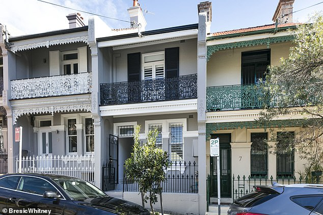 Property portfolio: The home, that is set on a picturesque tree-lined street, was purchased in 2017 for $2.25 million
