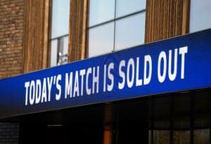 40,000 expected at Tottenham Hotspur Stadium.