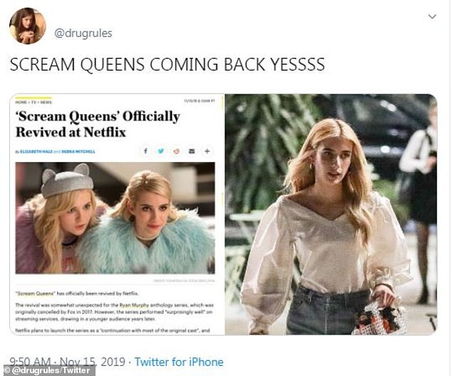 Too much hype: This article began to circulate online before it was quickly removed as the show has not been confirmed