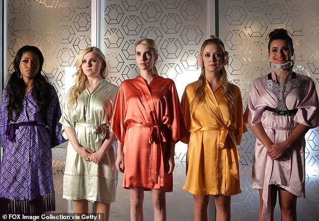 The stars: Keke Palmer,Abigail Breslin, Emma Roberts, Billie Lourd, and Lea Michele starred in the first two seasons and all agreed to come back for season three
