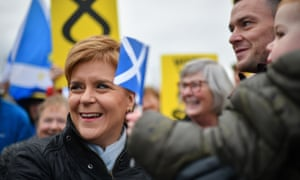 Nicola Sturgeon will focus on immigration today, fresh off the back of losing her court case to be included in tonight's TV debate.