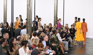New York fashion week's first carbon-neutral catwalk show, hosted by Hearst in September 2019