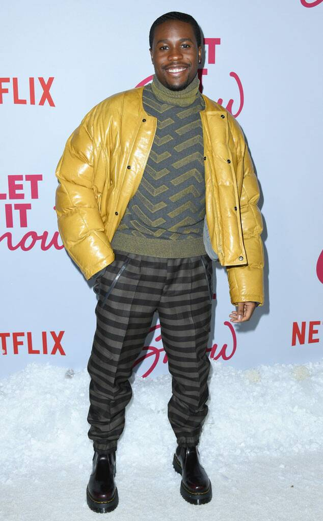 Shameik Moore, Let It Snow Premiere
