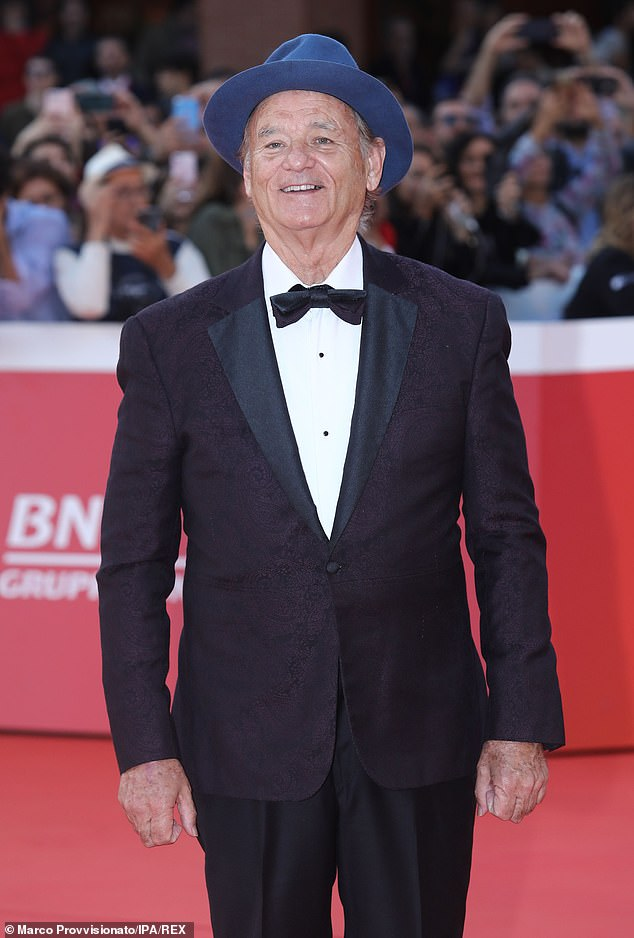 He ain't afraid of no ghosts: Dan Aykroyd has confirmed that Bill Murray,pictured at the Rome Film Festival in October, will appear in Ghostbusters 2020
