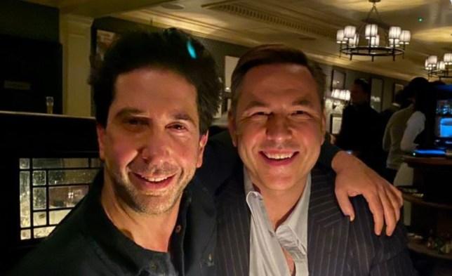 David Walliams and David Schwimmer