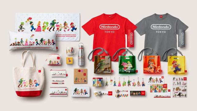 Nintendo Store Tokyo merchandise