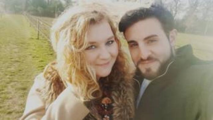 Andre Armenian and fiancée Sian Webb