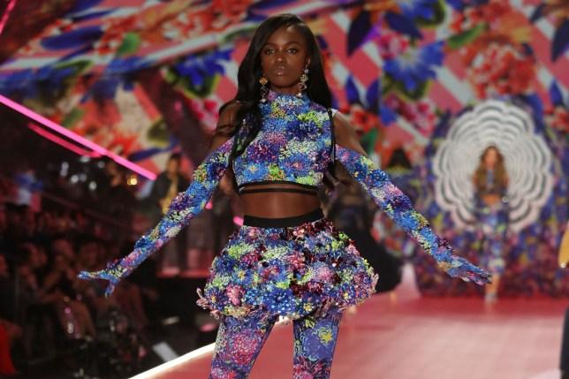 Leomie Anderson Victoria's Secret fashion show
