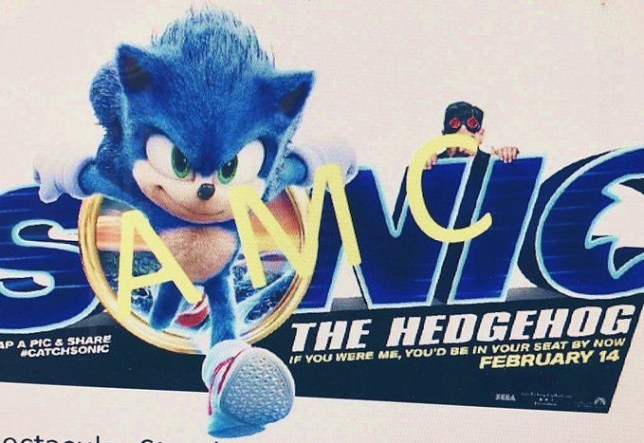 Leaked Sonic the Hedgehog design
