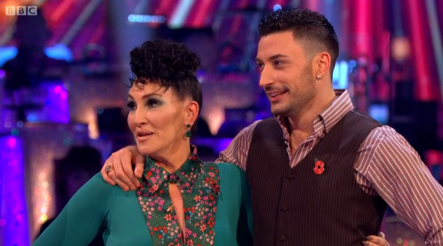 Strictly's Michelle and Giovani