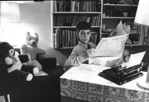 Jacob Rees Mogg, aged 12. A friend who sat through his debating society contributions at school has described him as 'like a posh Karl Pilkington'.