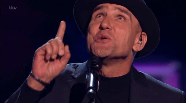 Vinnie Jones The X Factor: Celebrity