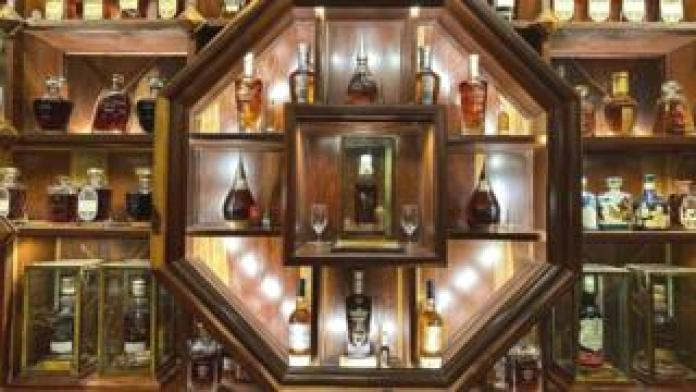 Mr Viet Nguyen Dinh Tuan's whisky collection