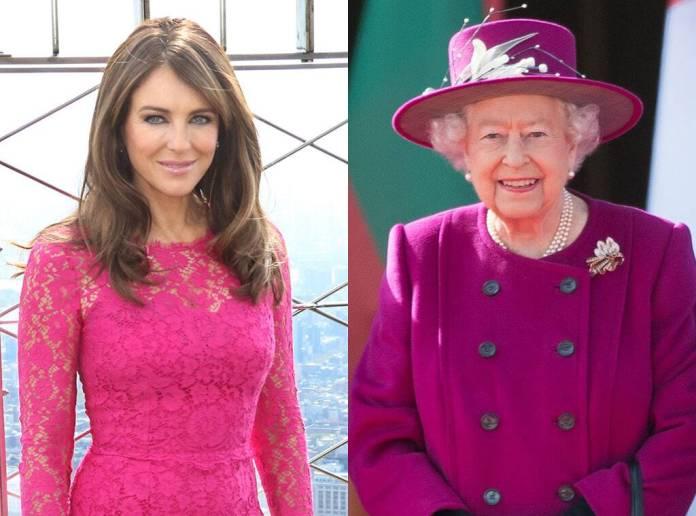 Elizabeth Hurley, Queen Elizabeth