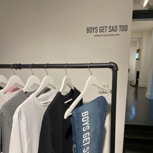 Clothing line Boys Get Sad Too